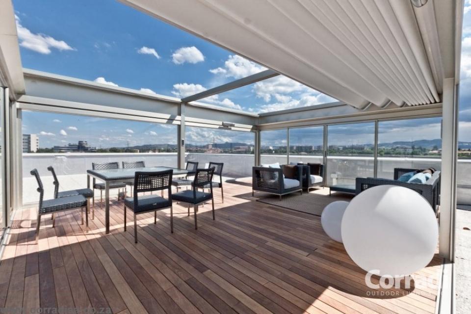 Pergola per terrazzi pergotenda corradi - Terrazzi di design ...