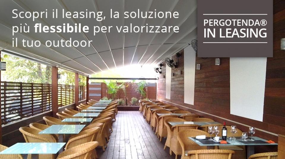 Pergotenda® i leasing: opportunità di business per locali e alberghi