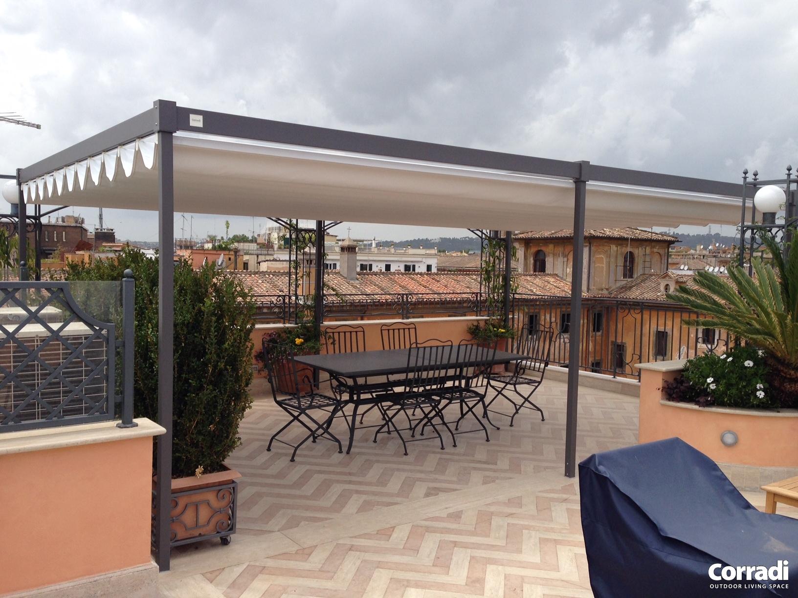 Verande per balconi Roma