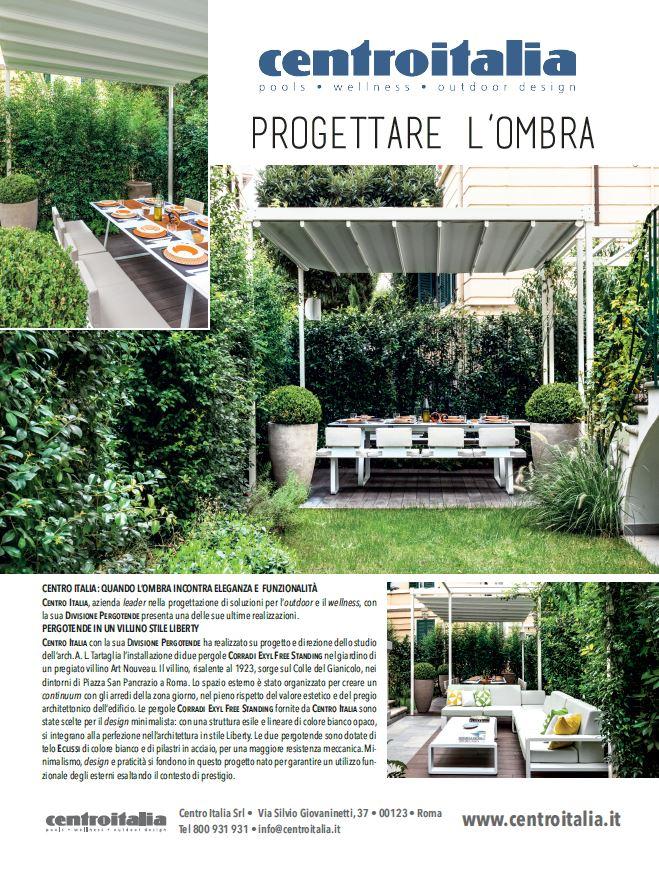 Centro Italia e le sue pergotende su Topscape Paysage n. 43