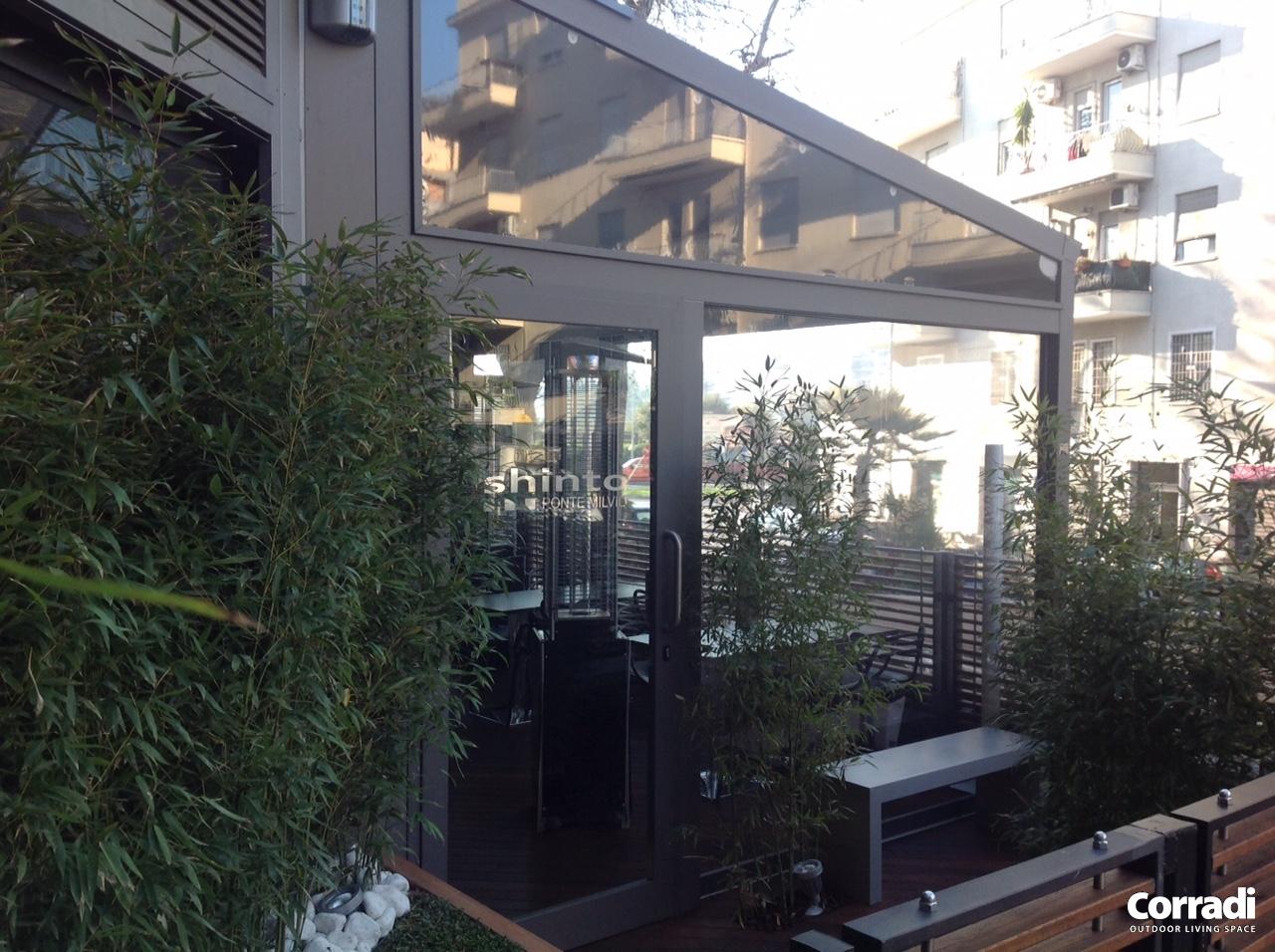 Pergotenda Casa Corradi per Shinto